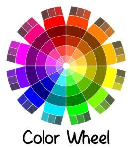 color wheel | delightfulpaths.com