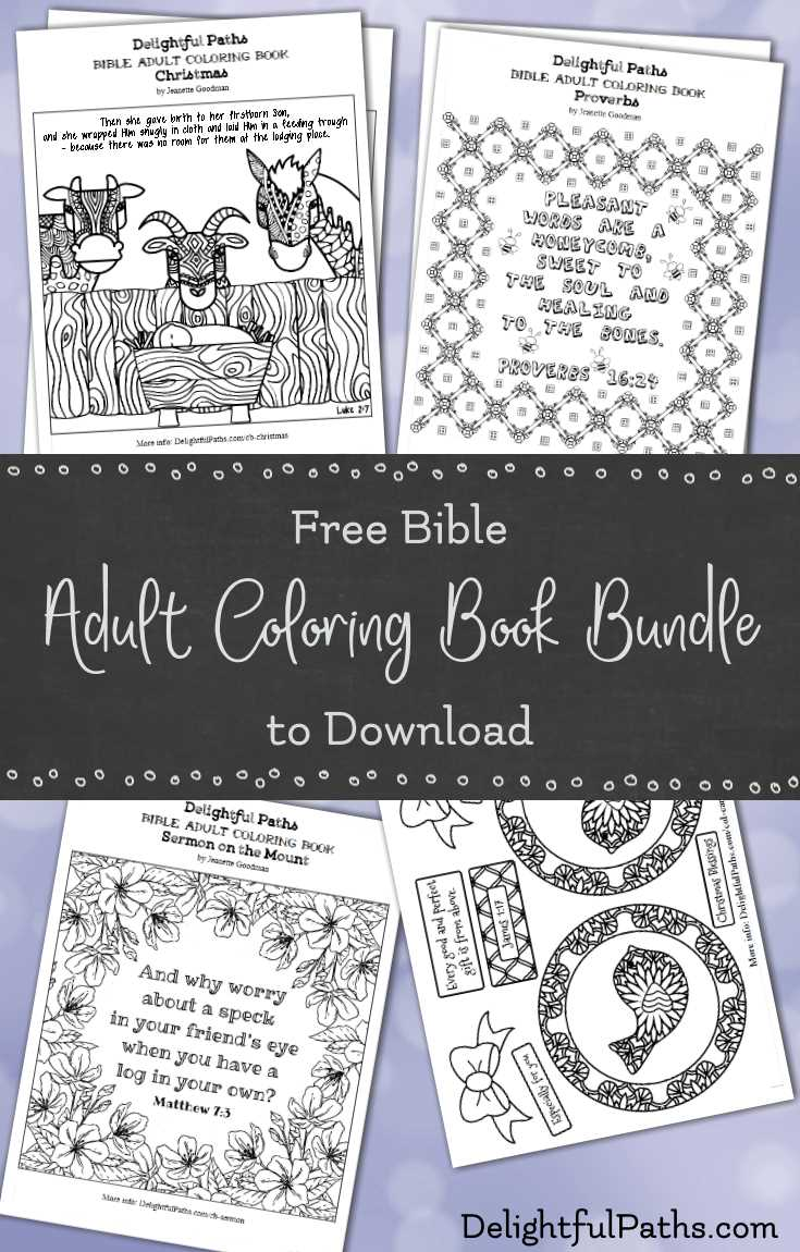 Christian coloring books and crafts for adults for Religious crafts for adults
