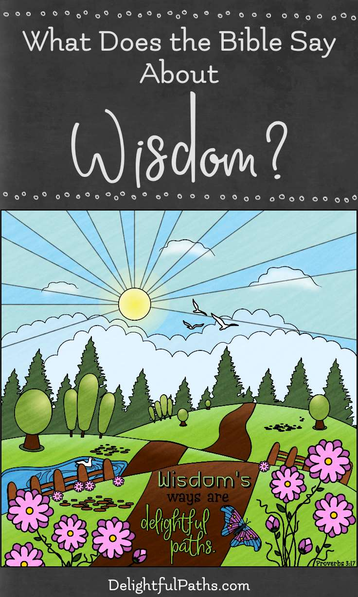 Proverbs 3 17 Wisdoms Ways Are Delightful Paths Coloring Page What Does The Bible Say