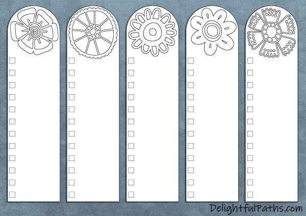 Free printable Bible color-coding coloring page bookmarks DIY categories | DelightfulPaths