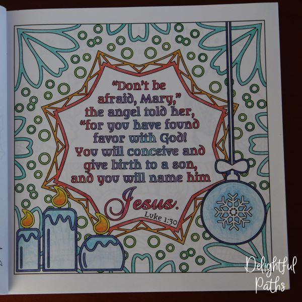 Luke 1 30 Delightful Paths