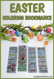 easter bookmarks DelightfulPaths