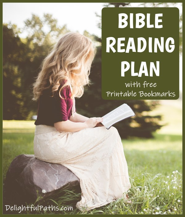 Horner Bible Reading Plan instructions with free printable watercolor floral Bookmarks DelightfulPaths #bible #biblestudy #printables #bookmarks #coloring #watercolor
