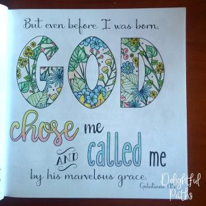 Galatians 1-15 Coloring Book for Adults DelightfulPaths