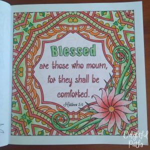 Sermon on the Mount Bible Coloring Book DelightfulPaths Mat 5-4