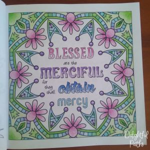 Sermon on the Mount Bible Coloring Book DelightfulPaths Mat 5-7