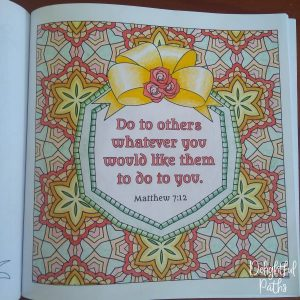 Sermon on the Mount Bible Coloring Book DelightfulPaths Mat 7-12