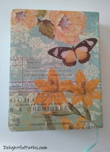 NLT inspire journaling Bible back cover DelightfulPaths