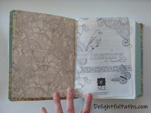 NLT inspire journaling Bible endpages2 DelightfulPaths