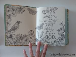 NLT inspire journaling Bible endpages3 DelightfulPaths