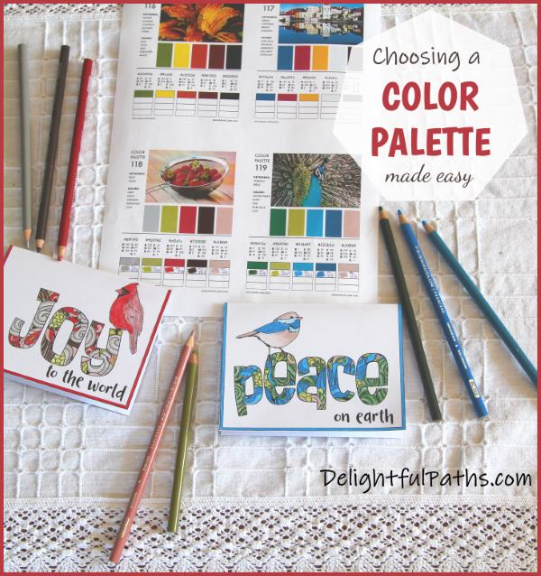 The Color Catalog choosing a color palette DelightfulPaths