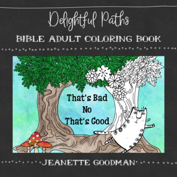 Delightful Paths Adult Bible Coloring Book – That's Bad; No That's Good