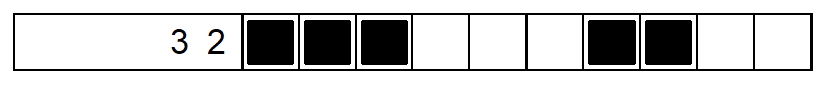 nonogram example row1