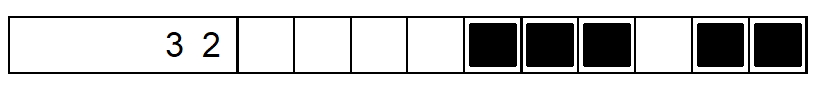 nonogram example row4