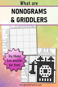 what are nonograms or griddlers